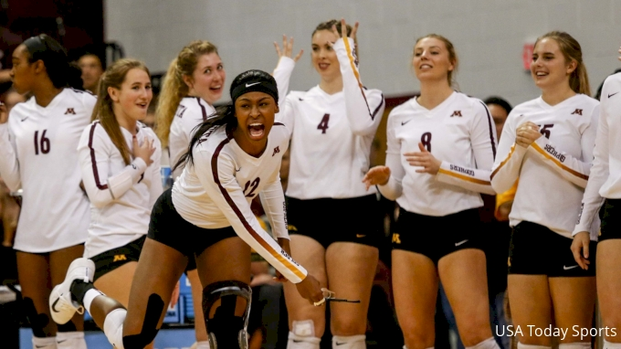 picture of Maryland at Minnesota | 2017 NCAA Women's Volleyball