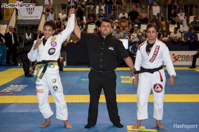 Watch Beatriz Mesquita Destroy Two Opponents At IBJJF Rio BJJ Pro
