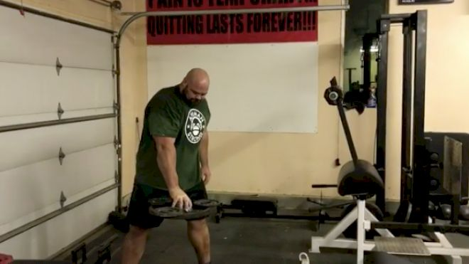 Brian Shaw Shows Off His Insane Grip Strength