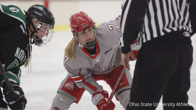 picture of Ohio State at Wisconsin | 2017 NCAA Women's Hockey