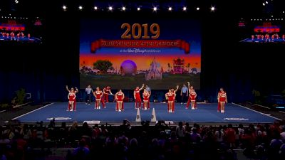 University of New Mexico [2019 Cheer Division IA Semis] UCA & UDA College Cheerleading and Dance Team National Championship