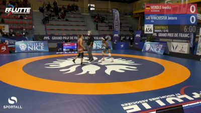 53 kg - Jacarra Winchester, USA vs Annika Wendle, Germany