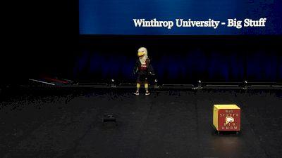 Winthrop University - Big Stuff [2021 Mascot Semis] 2021 UCA & UDA College Cheerleading & Dance Team National Championship