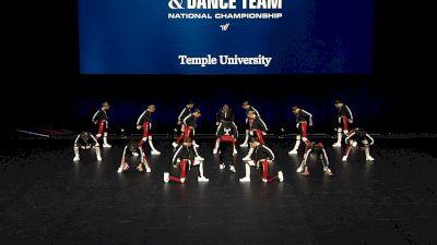 Temple University [2021 Division IA Hip Hop Semis] 2021 UCA & UDA College Cheerleading & Dance Team National Championship