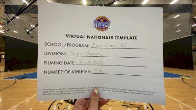 East Ridge High School [Super Varsity Virtual Finals] 2021 UCA National High School Cheerleading Championship