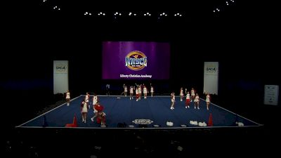 Liberty Christian Academy [2021 Small Varsity Coed Semis] 2021 UCA National High School Cheerleading Championship