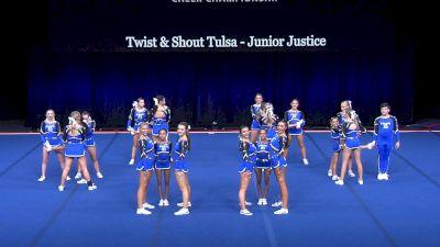 Twist & Shout Tulsa - Junior Justice [2021 L4 U17 Coed Prelims] 2021 The Summit