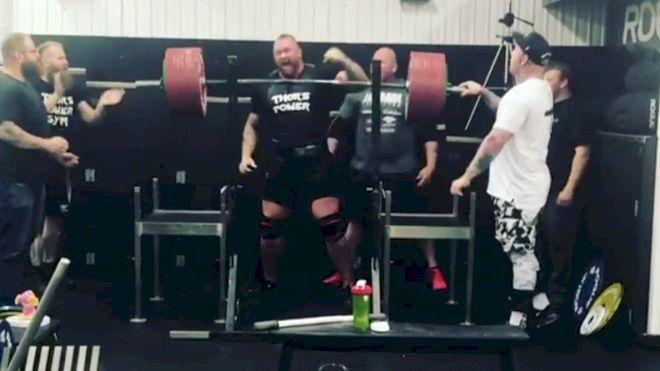Hafthor Bjornsson Destroys A 440kg/970lb Squat