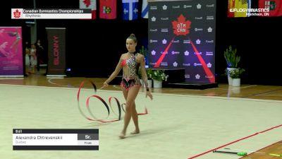 Alexandra Chtrevenskii - Ball, Quebec - 2019 Canadian Gymnastics Championships - Rhythmic
