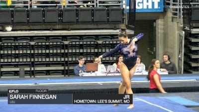 Sarah Finnegan - Floor, LSU - GymQuarters Invitational (NCAA)