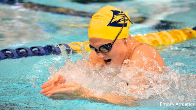Defending NCAA DIII Champs Emory Lead Miami Invite Psych Sheet