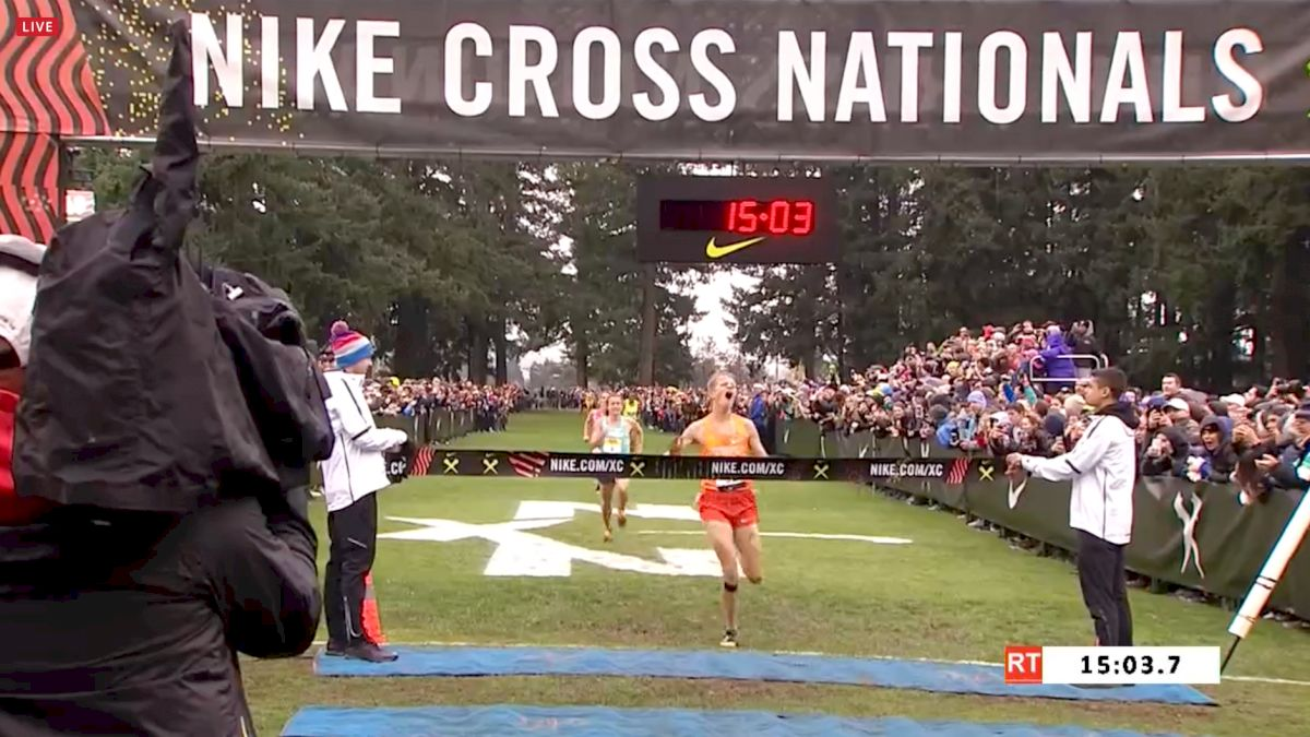 in stock c1ad8 a6c55 Aidan Troutner Upsets Brodey Hasty At Nike Cross Nationals