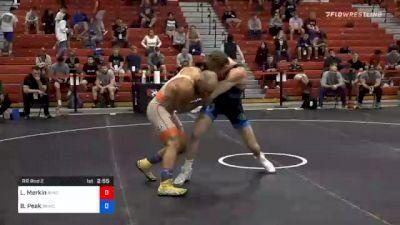 72 kg Prelims - Lenny Merkin, New York Athletic Club vs Benjamin Peak, Sunkist Kids Wrestling Club