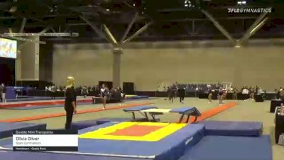 Olivia Oliver - Double Mini Trampoline, Stars Gymnastics - 2021 USA Gymnastics Championships
