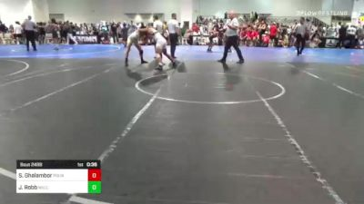 141 lbs 3rd Place - Shawheen Ghalambor, Pounders WC vs Jordan Robb, Wu Crew