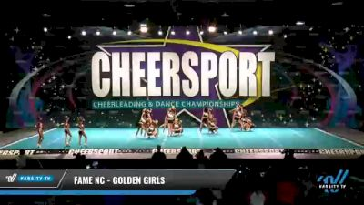 FAME NC - Golden Girls [2021 L2 Youth - Medium Day 2] 2021 CHEERSPORT National Cheerleading Championship