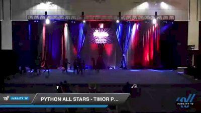 Python All Stars - Timor Pythons [2021 L2 Senior - Medium Day 2] 2021 The American Royale DI & DII