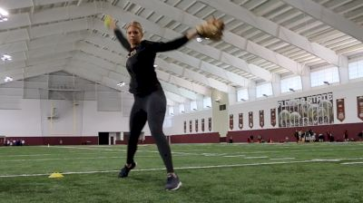 Jessica Burroughs Pitching Technique: Power Line Mechanics