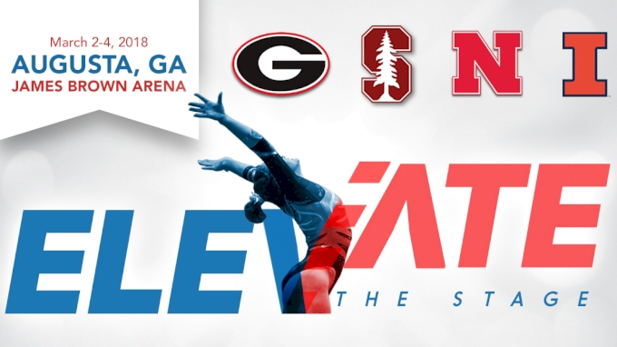 picture of 2018 Elevate the Stage - Augusta (NCAA) | UGA, Stanford, Nebraska, Illinois