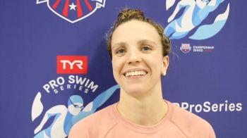 Regan Smith Has 'New Sense Of Focus' After 2017 Summer Success (VIDEO)