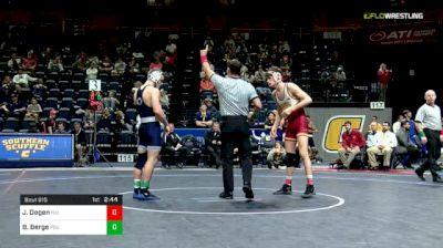 149 lbs Consolation - Jarrett Degen, Iowa State vs Brady Berge, Penn State