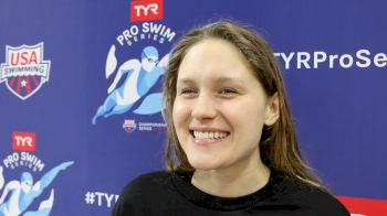 Olivia Smoliga's Thoughts On New Training Partner Missy Franklin (VIDEO)