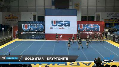 Gold Star - Kryptonite [2021 L4.2 Senior Day 1] 2021 USA Reach the Beach Spirit Competition