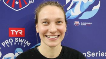 Melanie Margalis Doesn't Train For 400m IM, Still Goes 4:37 (VIDEO)