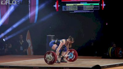 Mattie Rogers Medals At Worlds In The C&J And Total With This 131kg Lift
