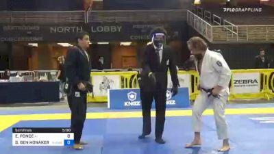EDUARDO PONCE vs GEORGE BEN HONAKER JR 2020 World Master IBJJF Jiu-Jitsu Championship
