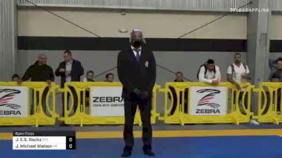 Joeo E.S. Rocha vs Jake Michael Watson 2020 American National IBJJF Jiu-Jitsu Championship