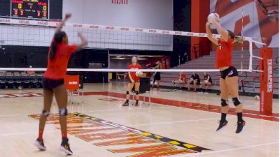 Setting Your Middles Out Of System With Maryland Volleyball