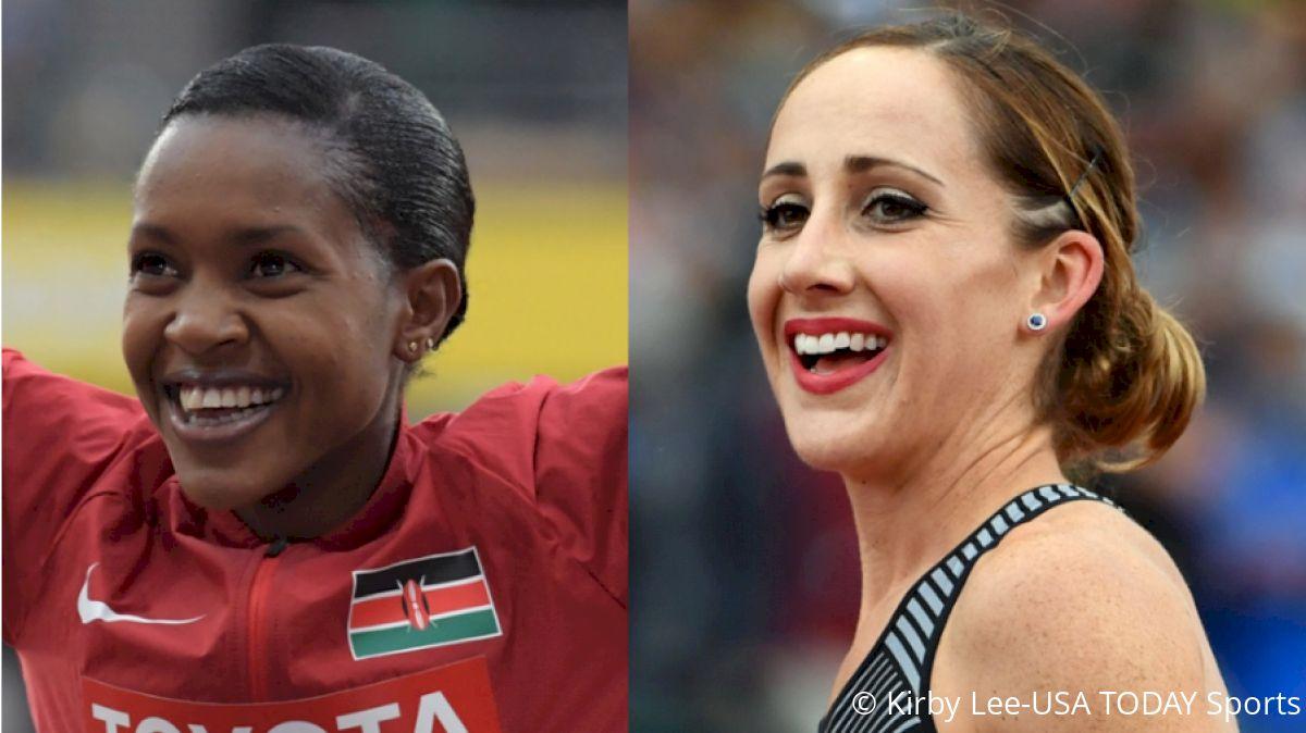 Elite 1500m Runners Shannon Rowbury, Faith Kipyegon Announce Pregnancies
