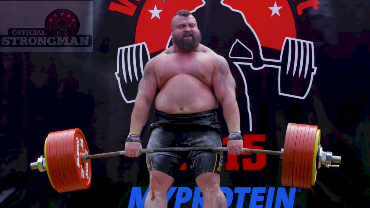 Eddie Hall Throws Shade At Thor's 455kg/1003lb Deadlift