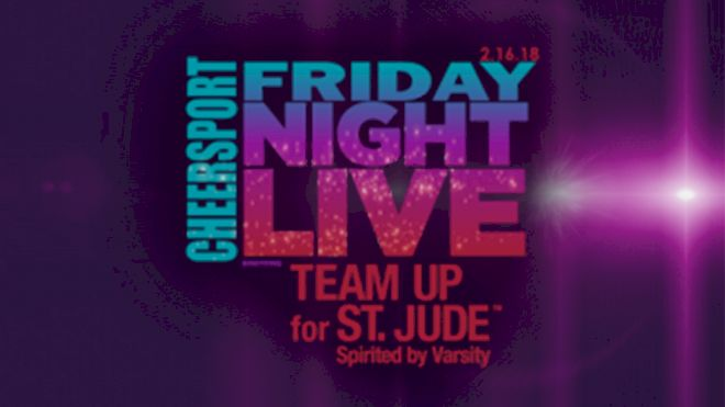 All Stars Team Up For St. Jude At CHEERSPORT Friday Night Live