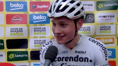 Mathieu Van Der Poel Wins Hulst
