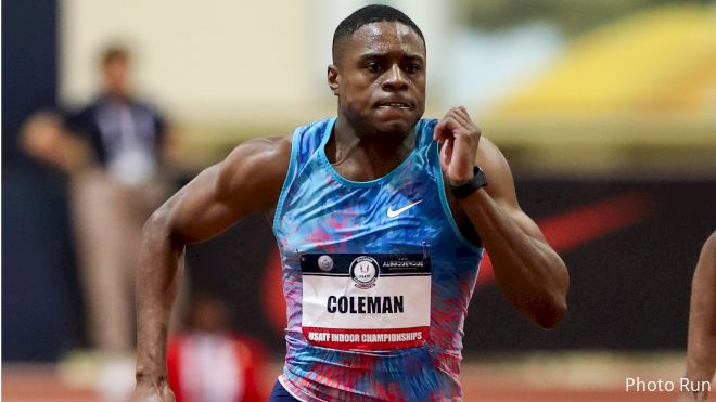 Christian Coleman Receives Two-Year Suspension
