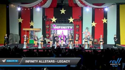 Infinity Allstars - Legacy [2019 International Global - Coed 6 Day 2] 2019 All Star Challenge: Battle Under the Big Top