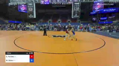 106 lbs Round Of 16 - Christian Forbes, Oklahoma vs Matthew Dolan, West Virginia