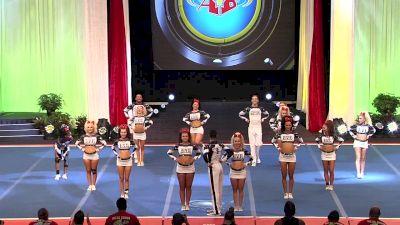 Twist & Shout - Tulsa - Adam & Eve [2019 L5 Senior Open Small Coed Semis] 2019 The Cheerleading Worlds