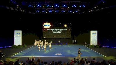Baton Rouge Bengals Senior White [2020 Senior Club Finals] 2020 UCA National High School Cheerleading Championship