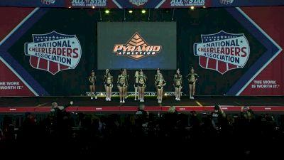 Pyramid Athletics Queens [2020 L4 Small Senior D2 Day 1] 2020 NCA All-Star Nationals