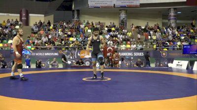 97kg Finals: Kyle Snyder, USA vs Ali Shabanibengar, Iran