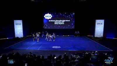St Michael Albertville High School [2019 Small Varsity Non Tumbling Semis] 2019 UCA National High School Cheerleading Championship