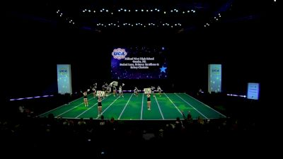 Millard West High School [2020 Varsity Non Building Game Day Finals] 2020 UCA National High School Cheerleading Championship