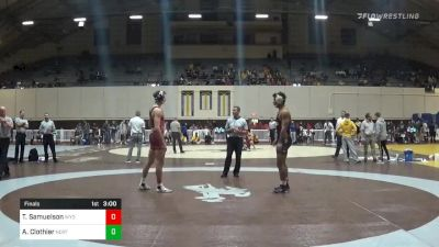 Match - Tate Samuelson, Wyoming vs Alan Clothier, Northern Colorado with commentary