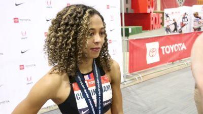 Gabriele Cunningham Takes Indoor Hurdle Crown