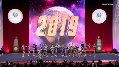 A Look Back At The Cheerleading Worlds 2019 - International Open Non Tumbling Coed Medalists