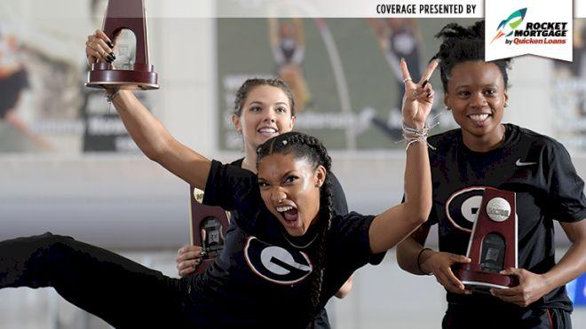LJ Sweep, Tara Davis' World Jr. Record Boost Bulldogs For NCAAs Day 2