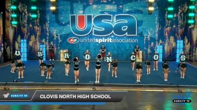Clovis North High School [2020 Large Varsity Show Cheer Intermediate (17-20) Day 2] 2020 USA Spirit Nationals